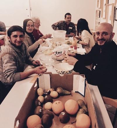 Mensen en gerechten uit de hele wereld