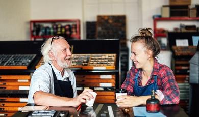 Hoe ervaar jij de ontmoeting tussen jong en oud?