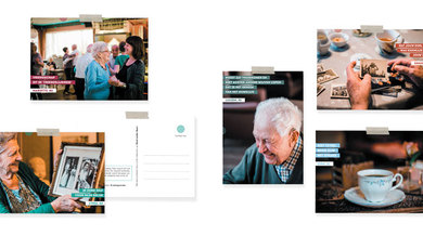 Bestel nu in de BZN webshop: Instagrannies Postkaarten