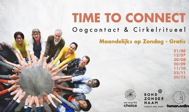 Time to connect. Online Cirkelritueel. Doe mee op 22/11