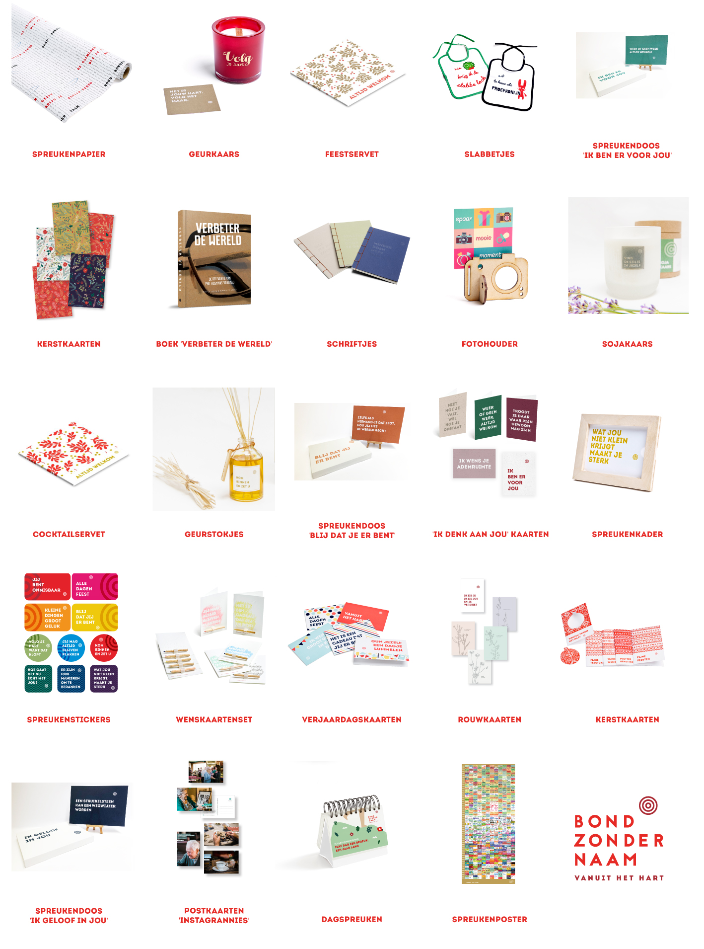 Webshop collage